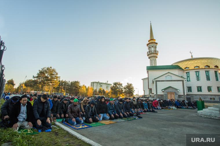 Курбан Байрам. Сургут, мечеть, ислам, мусульмане