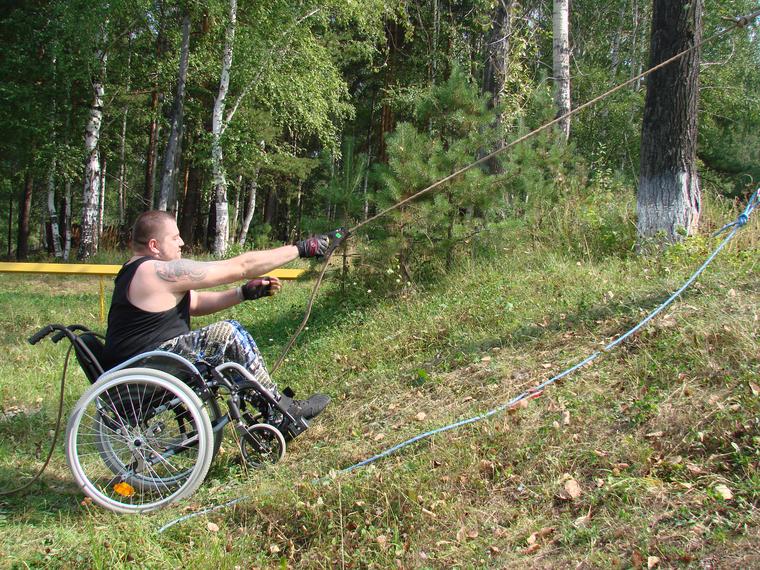 Уральские коляски для инвалидов-экстремалов Вязовцев, команда восхождение, коляски для инвалидов экстремалов