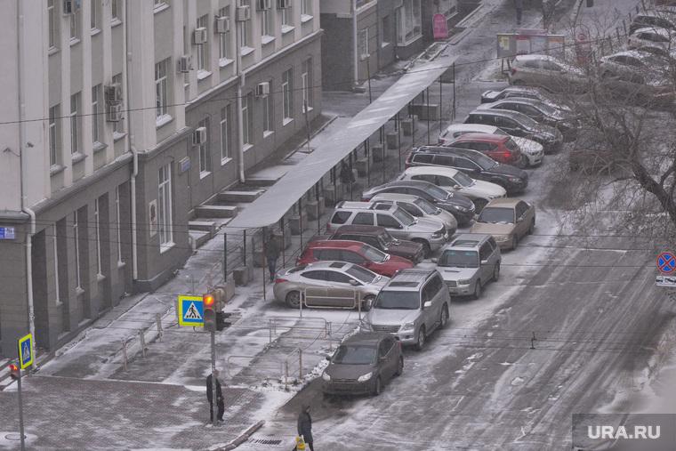 Непогода. Челябинск, снег, авто