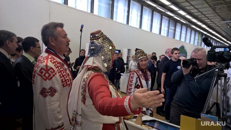 Открытие фестиваля Русского географического общества. Москва. 30 октября 2015 года, ямал