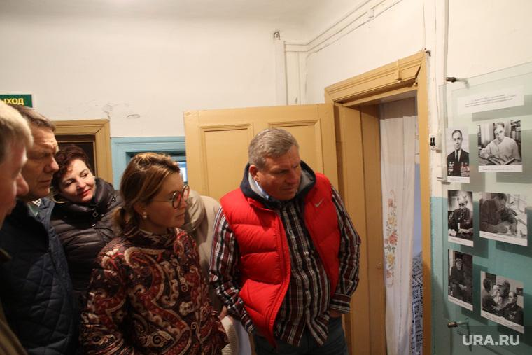 Визит Алексея Боброва в село Мальцево, Алексей Бобров, музей мальцева