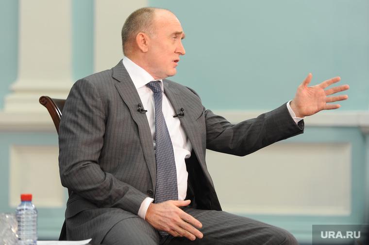 Пресс-конференция Дубровского. Челябинск