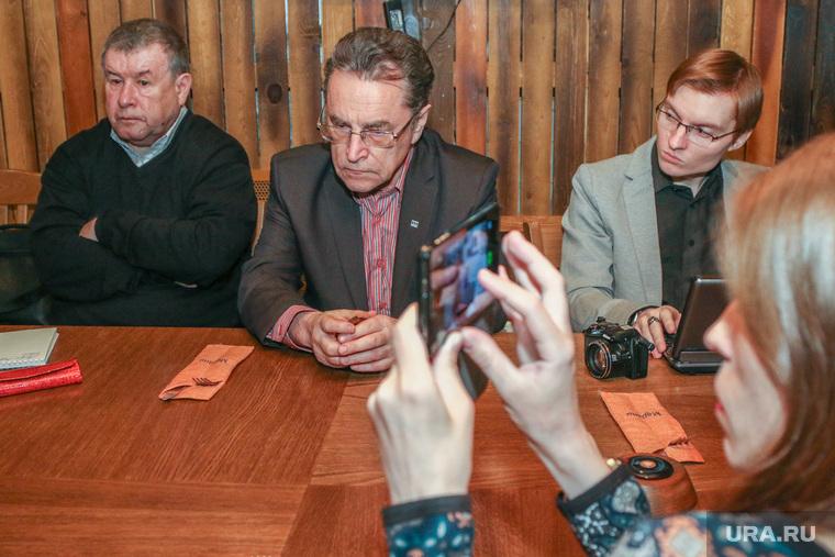 Пресс-конференция профессора КГУ Бориса Шалютина.Курган., камшилов иван, винштейн илья