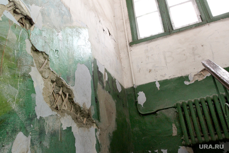 Аварийный дом улица Кирова 71Курган, аварийное жилье