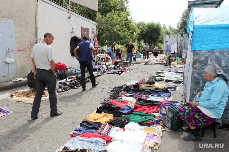 Рейд по микрорынуКурган, уличная торговля