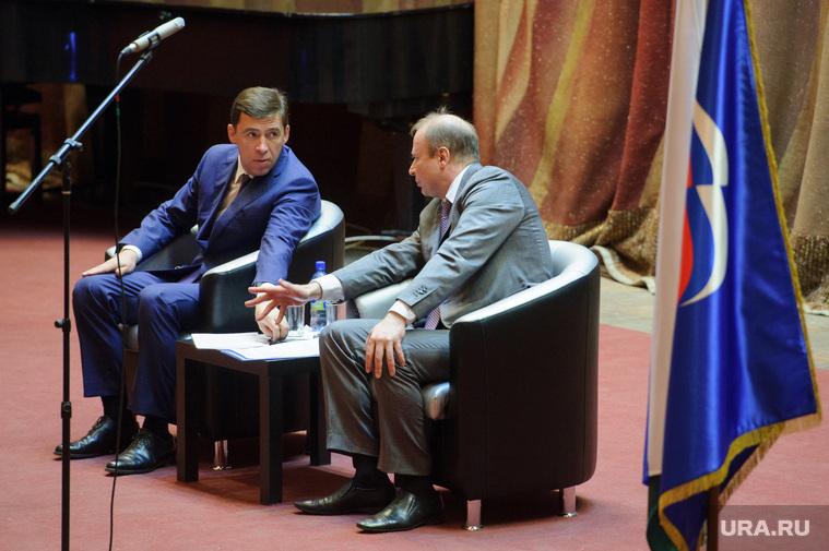 Шептий стал фактически вторым лицом в Свердловской области