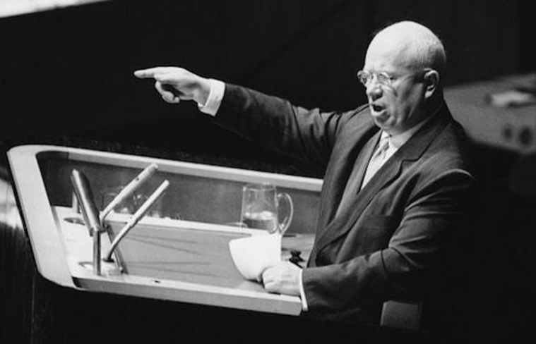 nikita khrushchev rose to power after the death of stalin
