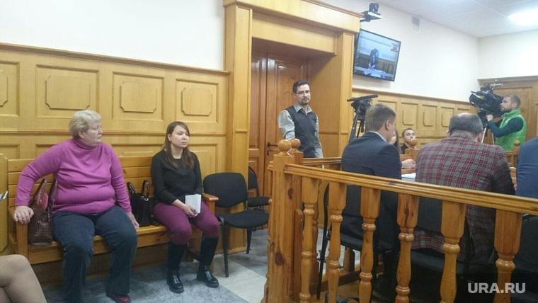 Валерия Приходкина от СПЧ на суде по делу Константина Цыбко. Челябинск