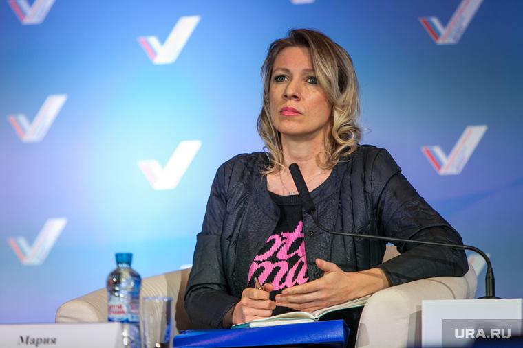 Захарова обвинила США и Канаду в подталкивании Украины к войне в Донбассе