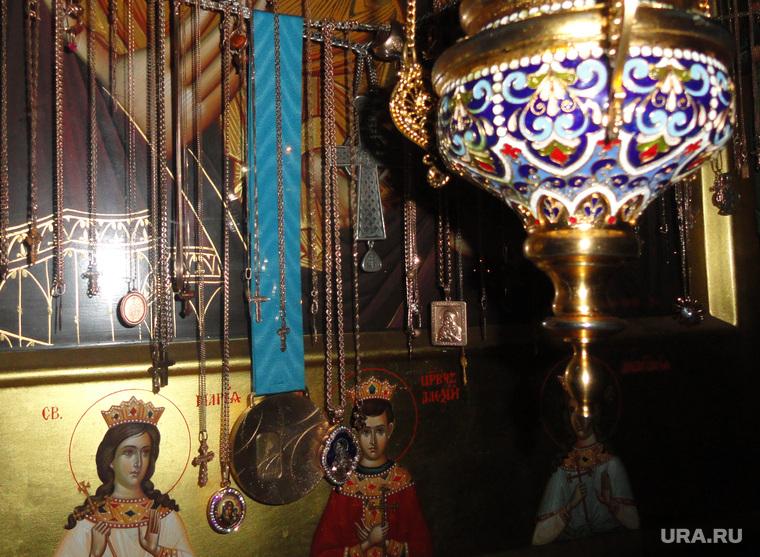 Золотая медаль Павла Дацюка в Среднеуральском женском монастыре