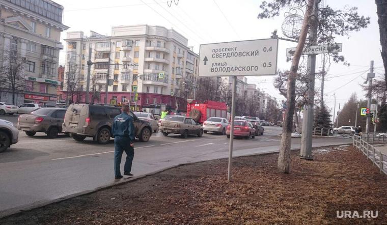 Авария с пожарной машиной. Челябинск