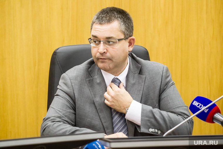 Председатель избирательной комиссии Тюменской области Игорь Халин. Тюмень, халин игорь