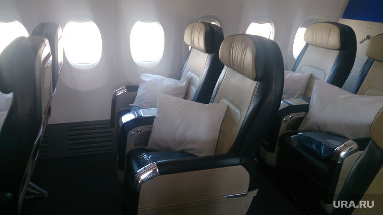 Флайдубай, полет бизнес-классом на самолете Боинг-737-800 в Дубай, ОАЭ. 4-7 мая 2014, бизнес-класс