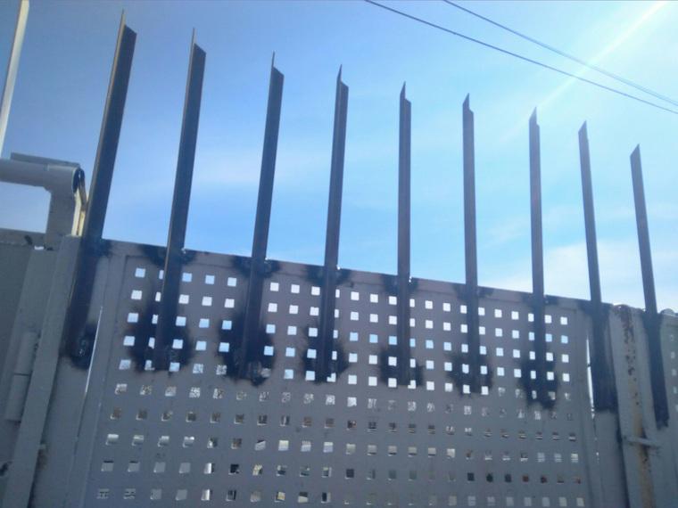 В Подмосковье пригрозили посадить безбилетников на железные колья. ФОТО