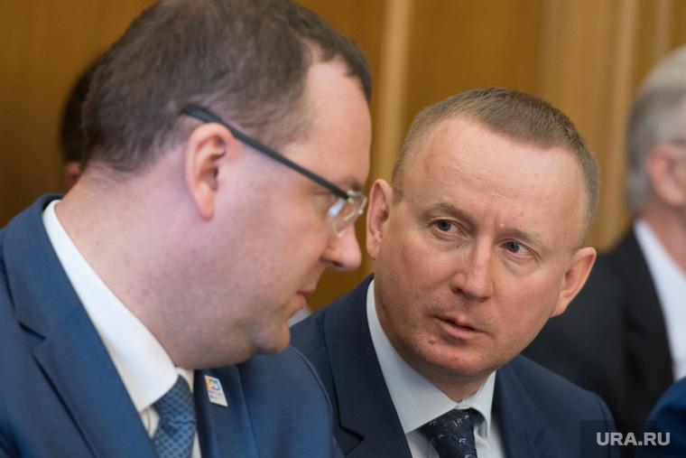 Заседание Городской думы Екатеринбурга и отчёт Александра Якоба