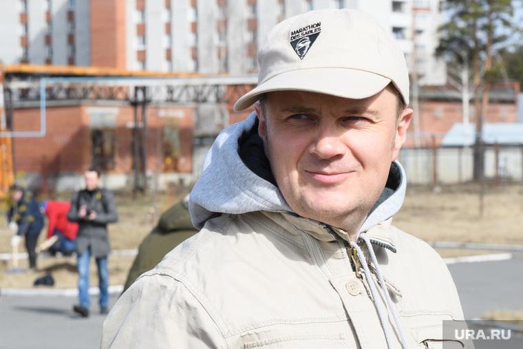 Правительственный субботник у Госпиталя ветеранов всех войн. Екатеринбург , иванов александр