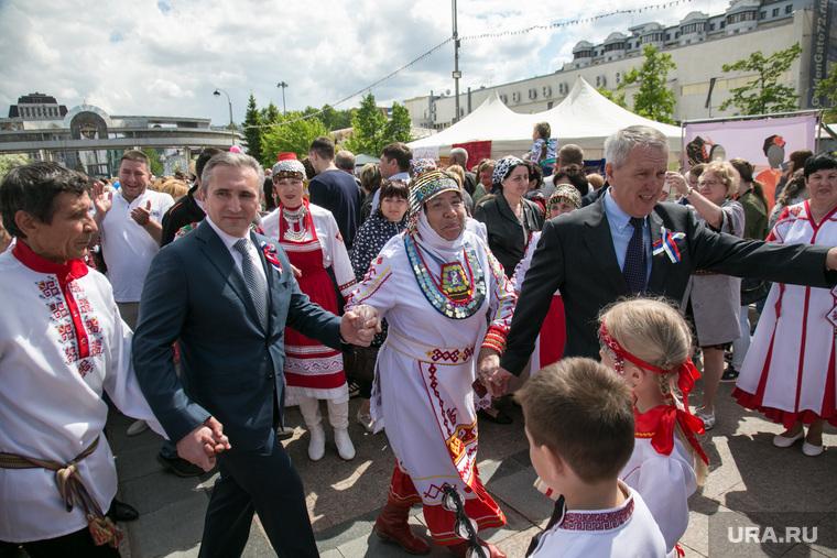 Празднование Дня России. Тюмень, моор александр, национальный костюм