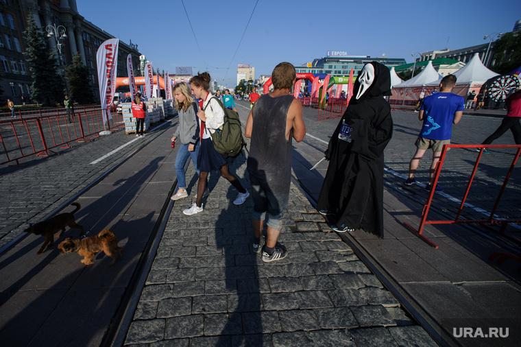"Марафон ""Европа-Азия"". Екатеринбург"