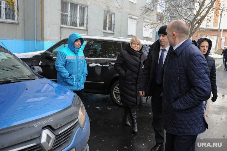 Объезд городских территорий Борисом Дубровским. Челябинск, дубровский борис