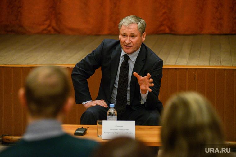Встреча губернатора Курганской области Алексея Кокорина с учителями Звериноголовской школы, встреча, диалог, кокорин алексей