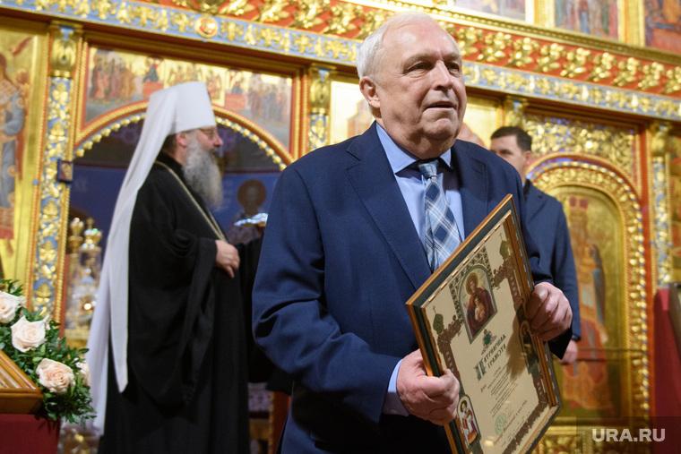 Вручение наград Русской православной церкви. Екатеринбург, суруда виктор