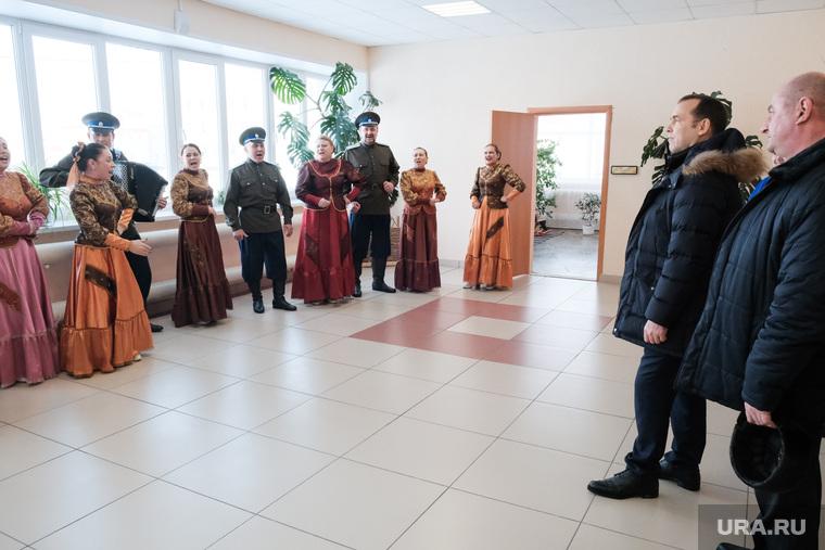 Визит врио губернатора в рабочий поселок Лебяжье. Курганская область