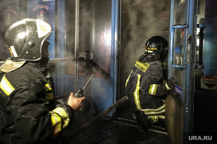 В Челябинске загорелось общежитие с мигрантами. Есть пострадавшие. ФОТО