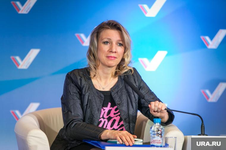 Захарова ответила Помпео на слова о Голанских высотах и Крыме