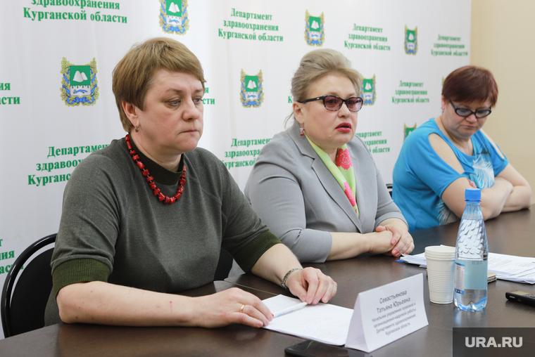 Пресс-конференция в департаменте здравоохранения. Курган