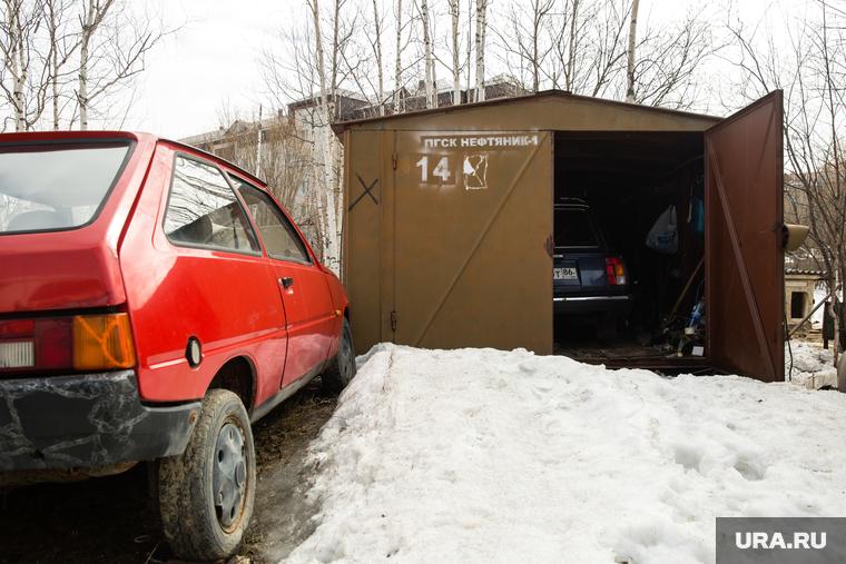 Снос гаражей в кооперативе Нефтяник-1. Сургут