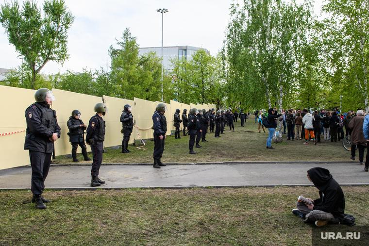 Протест против храма в Екатеринбурге стал самым «громким» за последние пять лет