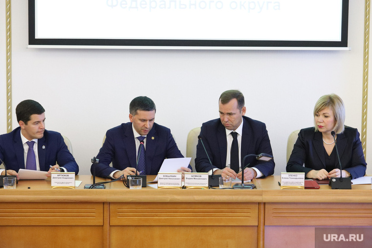 Визит министра природных ресурсов и экологии Дмитрия Кобылкина в Курган.