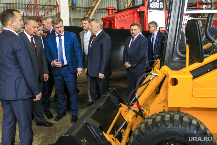 Заместитель председателя правительства Российской Федерации Юрий Борисов на Курганском машиностороительном заводе. Курган