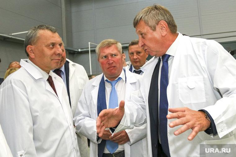 Заместитель председателя правительства Российской Федерации Юрий Борисов на Курганприборе. Курган