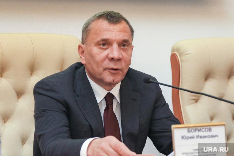 Заместитель председателя правительства Российской Федерации Юрий Борисов на совещании в правительстве Курганской области. Курган