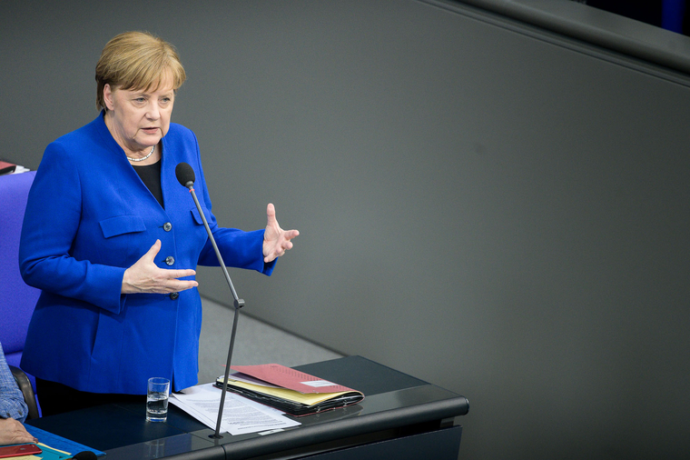 Меркель ответила на вопрос о здоровье и предупредила Россию