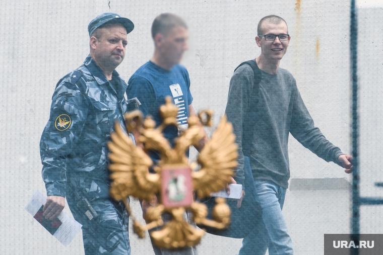 Владислав Рябухин выходит на свободу. Свердловская область, Решеты