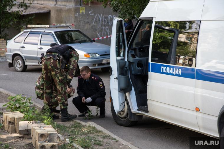 Взрыв во дворе дома № 51 на улице Советской Армии. Магнитогорск