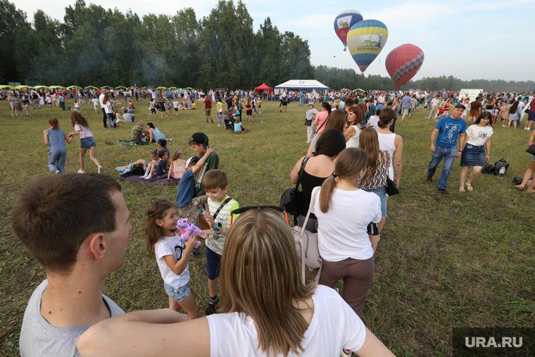 Фестиваль воздушных шаров. Курган