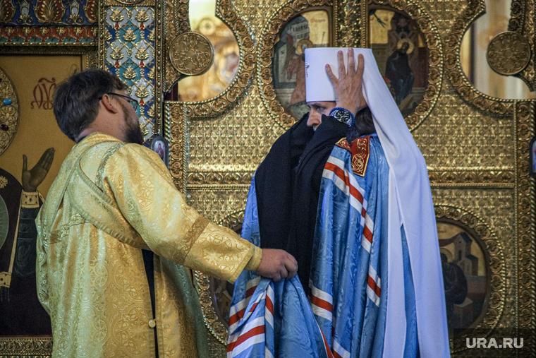Встреча курганского митрополита. Курган