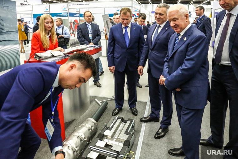 """Открытие выставки """"Нефть. Газ. Тек"""". Тюмень"""