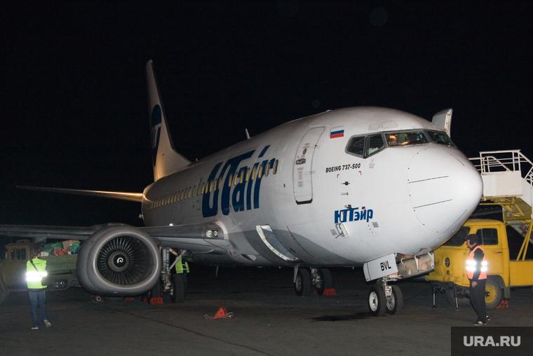 Самолет Utair из-за неисправности не смог вовремя вылететь в Курган
