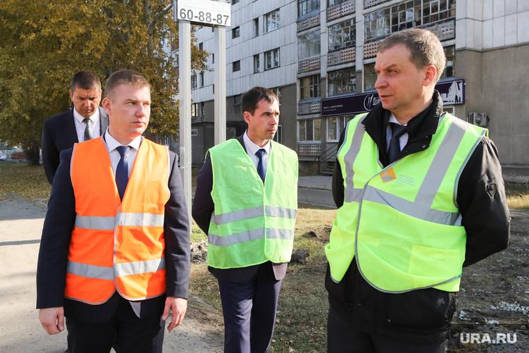Объезд главы города по объектам благоуйстройства. Курган