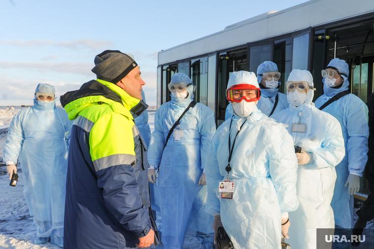 Учения по коронавирусу. Челяббинск