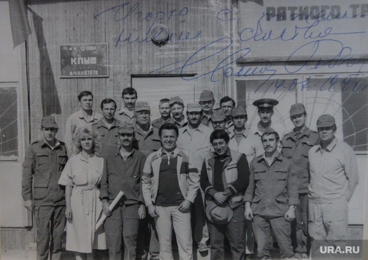 Фото из архива Игоря Меркулова с Кобзоном в Афганистане, 1986г. Кабул