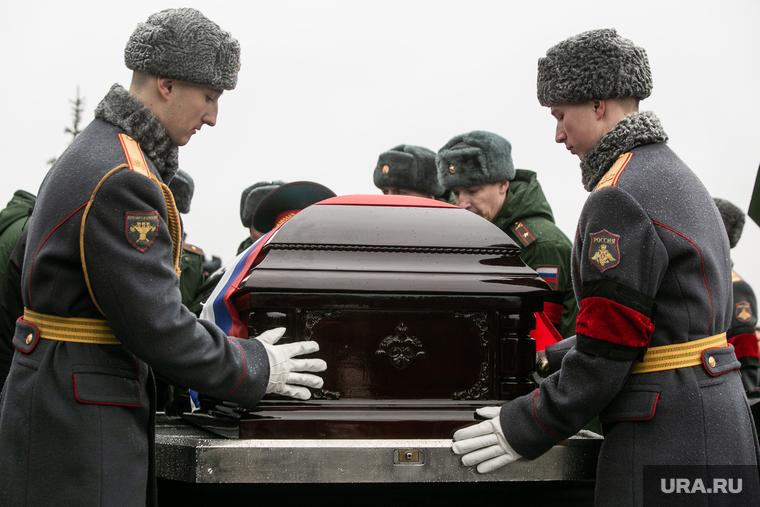 Похороны маршала Советского Союза Дмитрия Язова на Федеральном военном мемориальном кладбище в  Мытищах. Москва