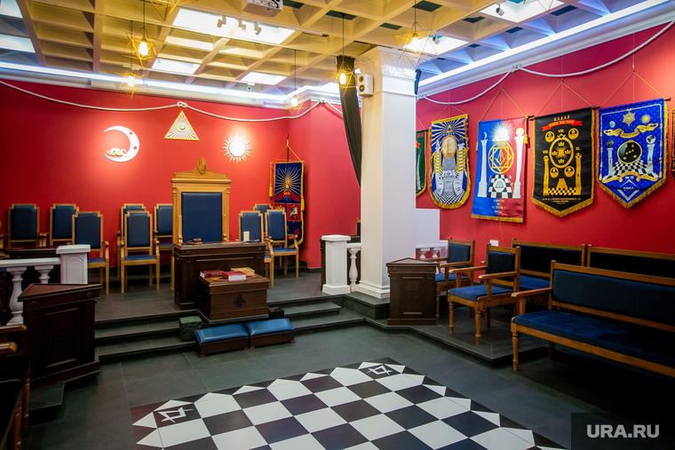Масонский храм Великой масонской ложи России. Москва