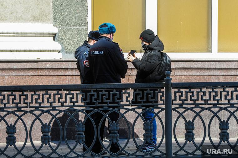 Полиция получила право штрафовать за нарушение режима самоизоляции в Москве