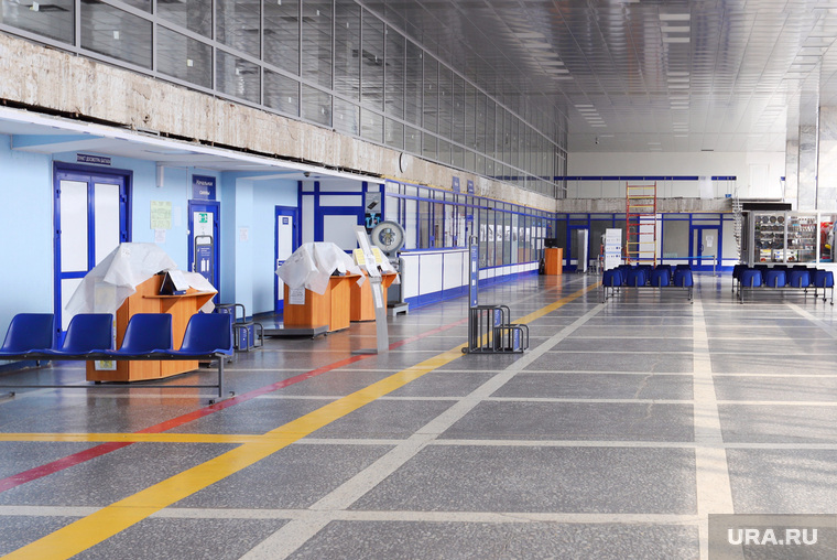 Курганский аэропорт временно закрывается