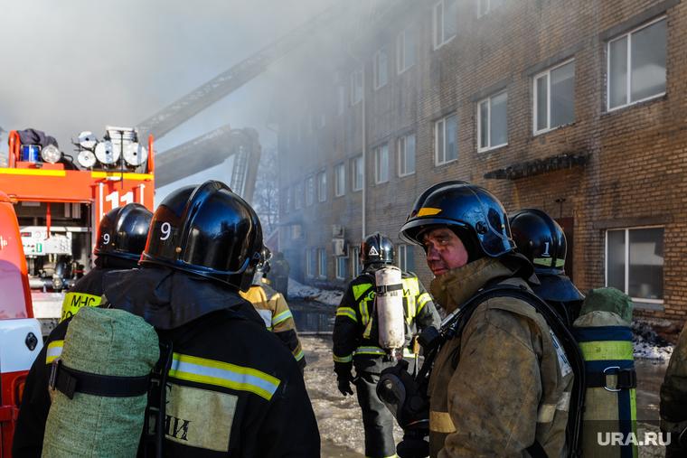 В Москве горела больница с зараженными коронавирусом